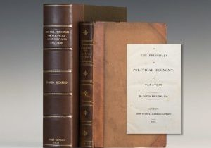 on-the-principles-of-political-economy-and-taxation-david-ricardo-first-edition-1817