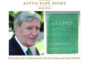 Raptis Rare Books Ambasador Mulhall Event